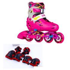 Giày trượt patin cao cấp, giày patin trẻ em flying eagle s5s – tặng ngay bộ bảo vệ chân tay gối