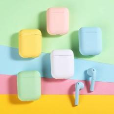 Tai nghe bluetooth không dây i12TWS 8 màu hình trái tim cô gái thích hợp cho Apple iphone Huawei Xiaomi oppo Android vivo phổ thông thời lượng pin dài mini in-ear hai tai