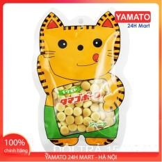 Bánh Ăn Dặm Men Sữa 50G Hình Mèo Nhật Bản , Bánh Dễ Tan, Chống Hóc Cho Bé, Bánh Ăn Dặm Kiểu Nhật