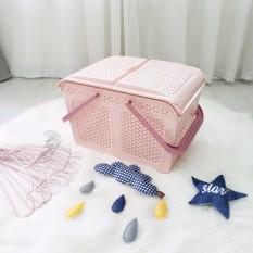 Làn nhựa đa năng cao cấp mở nắp rộng tiện dụng cho mẹ sinh em bé.