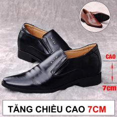 Giày Tăng Chiều Cao Nam UDANY Cao Ẩn 7cm Kín Đáo Bí Mật Từ Bên Trong – GCN03