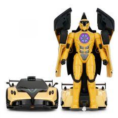 Đồ chơi Xe điều khiển Rastar biến hình Pagani màu vàng R74620/YEL