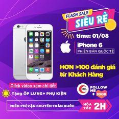 Điện thoại Apple iPhone 6 – 16GB -32GB – 64GB QUỐC TẾ FULL BOX, Cảm ứng Vân Tay, Pin Trâu, Camera Nét,Ios 12 Tặng phụ kiện Bảo hành 6 tháng MR CAU