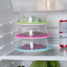 Nắp đậy thức ăn viền silicon hút chân không bảo đảm vệ sinh, bảo quản thực phẩm, đồ dùng gia đình, hộp chứa (NDS04)