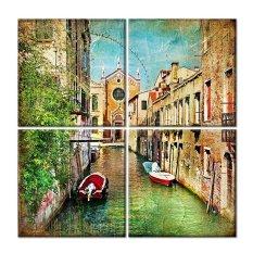 Tranh treo tường Venice Italy Saigonposter D246A