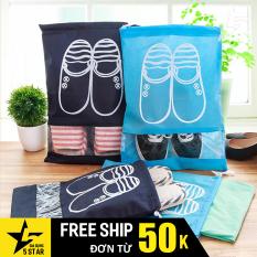Túi đựng giày dép, Sneaker, dây rút, chống thấm nước, chống bụi bẩn tiện dùng hằng ngày hoặc du lịch 5STAR