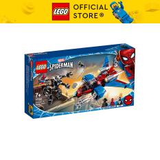 LEGO SUPERHEROES 76150 Máy Bay Phản Lực Của Người Nhện ( 371 Chi tiết)