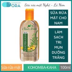 Sữa rửa mặt nam trắng da giảm mụn Kohomba – Kaha Extract Facial Cleansing Gel 100ml
