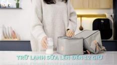 [HCM]Ba lô bỉm sữa có kết hợp túi bảo quản bình sữa – Multifit – Fatzbaby – FB2020SL