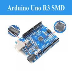 Arduino Uno R3 SMD (Chip Dán) – Tặng Kèm Cáp