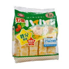 Bánh gạo tươi Nhật Haihain vị rau củ (7m+) 53g (2×16 gói)