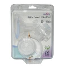 (Ko kèm Matxa) Bộ phụ kiện hút sữa cổ rộng Spectra – Phụ kiện thay thế dùng kèm cho máy hút sữa điện đơn đôi (Made in Korea)
