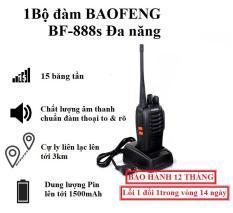 [COMBO] 2 Bộ Đàm 2 Chiều BAOFENG BF-888S – 15 Băng Tần – Full Phụ Kiện