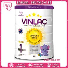 [CHÍNH HÃNG] Sữa Vinlac 1 400g | Dành cho trẻ từ 6-36 tháng tuổi biếng ăn, chậm lớn, thấp còi | Babivina