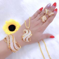 [ Bộ Trang Sức Nữ Cao Cấp HOT 2019 – Bền Màu, Cam Kết Không Đen] Thiết Kế Sang Trọng Phù Hợp Với Mọi Lứa Tuổi, Đặc Biết Giống Vàng 99% – Givi – VB4260515, bộ trang sức đẹp , bộ nữ trang đẹp , những bộ trang sức đẹp , những bộ nữ trang đẹp