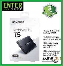 Ổ cứng di động SSD External Samsung T5 1Tb Usb 3.1 gen 2