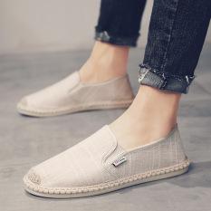 Giày Lười Vải Thời Trang Nam Cao Cấp ZAPPOS GLV01