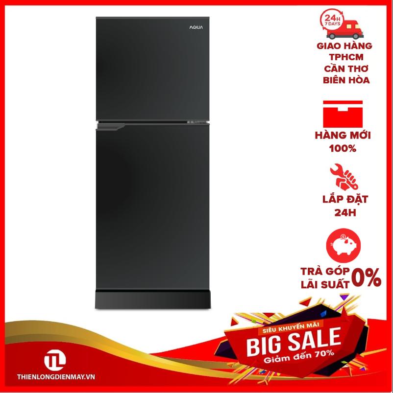 TRẢ GÓP 0% – Tủ lạnh Aqua 130 lít AQR-T150FA BS – Công nghệ kháng khuẩn, khử mùi:Nano Fresh Ag+ – Hàng mới 100% – Bảo hành 2 năm