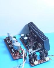 Mạch khếch đại 3 kênh + âm sắc (tháo máy). AL.61