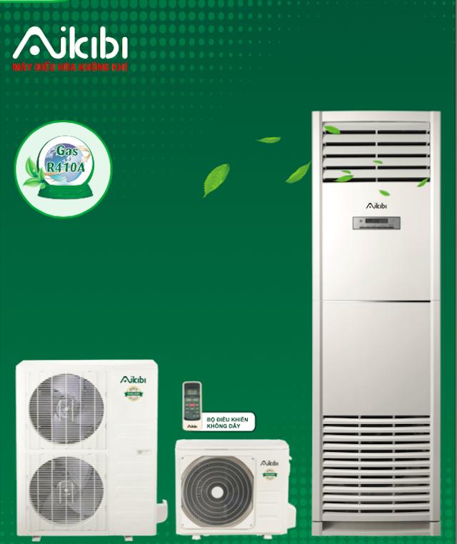 MÁY LẠNH AIKIBI 5.5 HP LOẠI TỦ ĐỨNG MF – GAS R410a