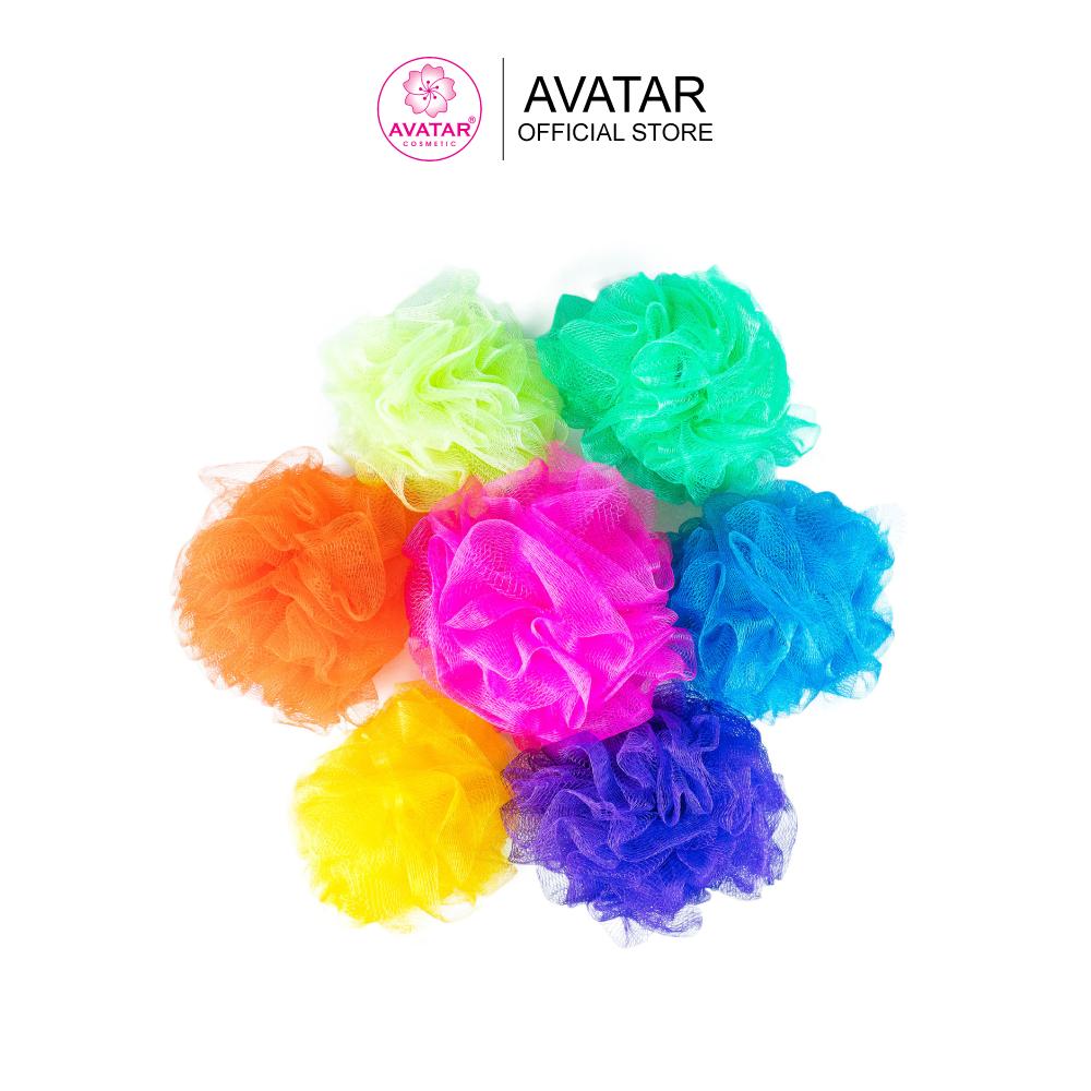 Bông tắm mềm tạo bọt tốt làm sạch da an toàn hiệu quả – Giao màu ngẫu nhiên