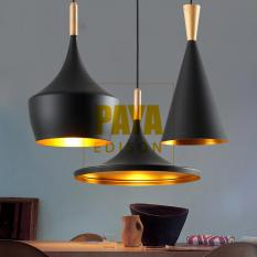 COMBO 3 ĐÈN [A+B+C] Đèn Thả Bàn Ăn BEATLIGHT – ĐUI GỖ – [CM029] Black (Tặng kèm bóng LED chuyên dụng)