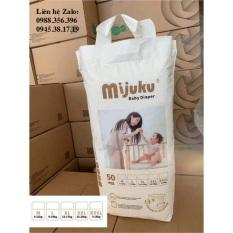 Hỗ trợ PVC tã quần MIJUKU cao cấp 50 miếng đủ size