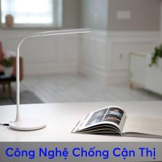 Đèn bàn học LED PRISM Hàn Quốc PL-250WH công suất 6W ánh sáng trắng chống cận bảo vệ mắt (Trắng)