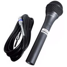 Micro Mic Karaoke Shure 959 Kèm dây micro 6m cao cấp chống hú