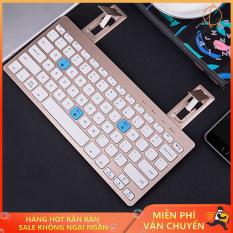 Bàn phím bluetooth cho laptop, Bàn phím mini bluetooth, Bàn phím bluetooth BOW HB191A Hỗ trợ kết nối 3 thiết bị cùng một lúc giúp bạn linh hoạt hơn trong quá trình sử dụng