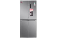Tủ lạnh Sharp Inverter 556 lít SJ-FX630V-ST – Tiện ích:Làm lạnh nhanh, Làm đá nhanh, Inverter tiết kiệm điện, Ngăn đá lớn, Chuông báo cửa mở, Bảng điều khiển bên ngoài. Hệ thống làm lạnh kép Hybrid Cooling