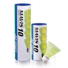 Quả cầu lông nhựa – Chính hãng Yonex- Ống cầu lông nhựa Yonex Mavis 10 (6 quả)