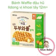 Bánh ăn dặm waffle đậu hũ Ildong cho bé 12m+ 64g (4 gói x 2 cái) – Vị khoai tây