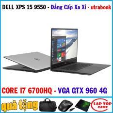 Dell XPS 15 9550 siêu đẹp siêu mạnh- core i7 6700hq, ram 8g, ssd 256g, vga gtx 960 4g, màn 15.6in fhd, dòng máy siêu cấp mạnh mẽ