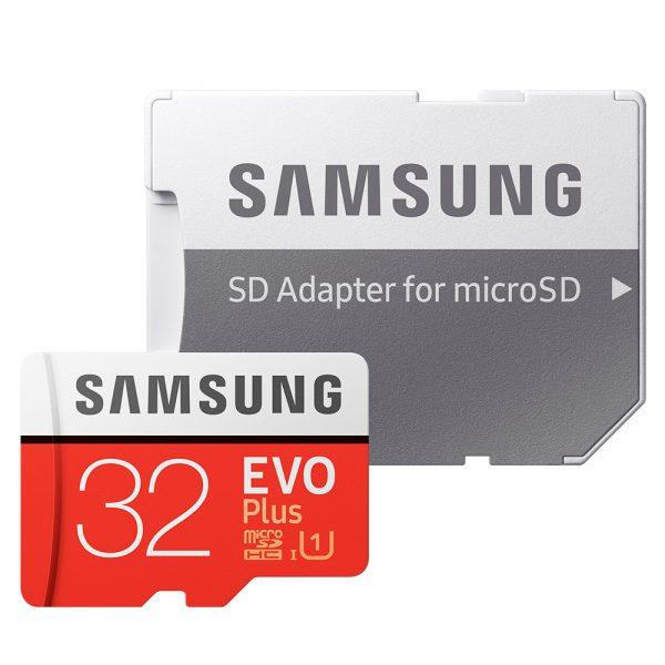 Thẻ nhớ microSDHC Samsung Evo Plus 32GB U1 upto 95MB/s kèm Adapter - Hãng phân phối chính thức