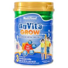 Sữa bột Nuvita Grow 3+ lon 900g (tăng chiều cao cho bé từ 3 tuổi) – HSD luôn mới