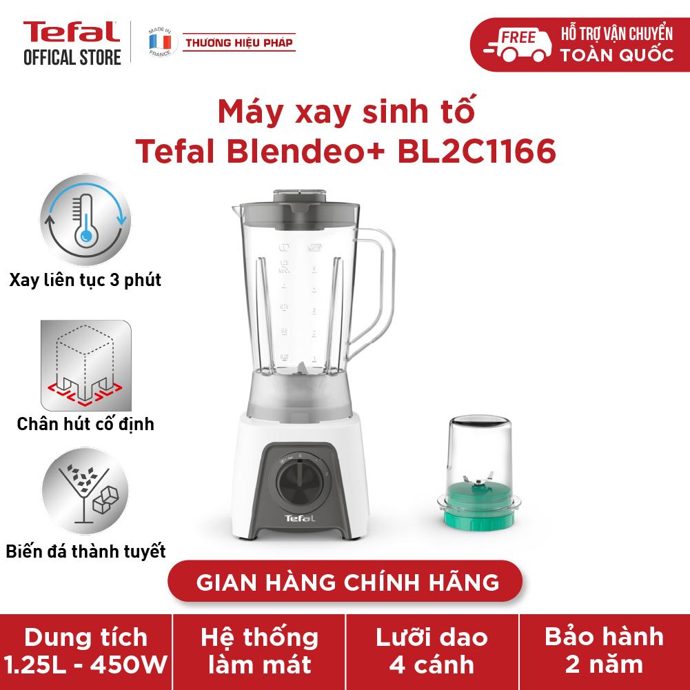 Máy xay sinh tố Tefal có cối xay khô Blendeo+ BL2C1166 - 450W, 1.25L