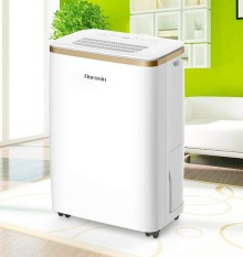 [Trả góp 0%](Sẵn có) Máy hút ẩm Dorosin 12L/ngày HD-201W công suất lớn-Hệ máy nén cao cấp tiêu chuẩn của Panasonic độ bền trên 10 năm- Hàng xuất Châu Âu-Bảo hành 1 năm