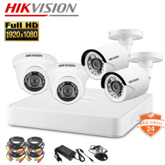 [Nhập ELAPR21 giảm 10% tối đa 200k đơn từ 99k]Trọn Bộ Camera giám sát 4 Mắt Hikvision 2.0MP Full HD 1080P Chính Hãng-Đủ phụ Kiện Tự lắp đặt – Bảo hành chính hãng 24 Tháng