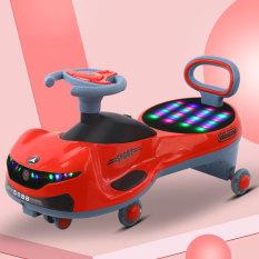 Xe lắc cho bé dáng thể thao có đèn và nhạc BBT GLOBAL SW005