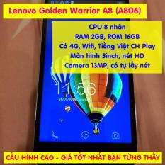 [CHÍNH HÃNG] Điện thoại Lenovo Golden Warrior A8 (A806) Có 4G LTE bộ nhớ 16GB