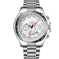 Đồng hồ nam Bosck Japan TI10 dây thép đặc không gỉ cao cấp , lịch ngày tự động, chống nước sinh hoạt phong cách doanh nhân, sang trọng