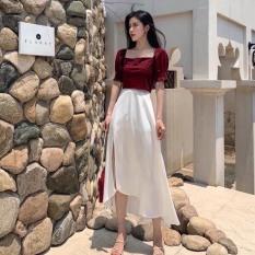Sét bộ thời trang nữ kèm chân váy xẻ siêu hot THỜI TRANG NỮ KEMPK