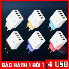 Củ Sạc Đa Năng 4 Cổng USB, Sạc Nhanh Mọi Thiết Bị, cục sạc iphone, cục sạc samsung, cục sạc oppo, cục sạc nhanh 2A, củ sạc ip, củ sạc iphone, củ sạc xiaomi, cục sạc điện thoại, cục sạc ipad CuuLongStore
