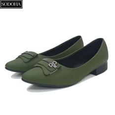 Giày nữ , Giày lười nữ , Giày đế bệt nữ – Giày nữ thời trang SODOHA SDH2216