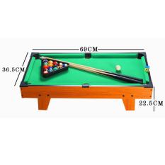 Đồ chơi bàn Bi-A kích thước 70x40cm Table Top Pool Table TTP-69 bằng gỗ