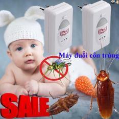 Máy Đuổi Côn Trùng Bằng Sóng Siêu Âm Pest Jerect, Loại Bỏ Chuột, Ruồi , Muỗi , Gián,… Khỏi Ngôi Nhà Bạn.