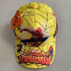 Nón kết Spiderman IN full đỏ cho bé trai 1-7 tuổi