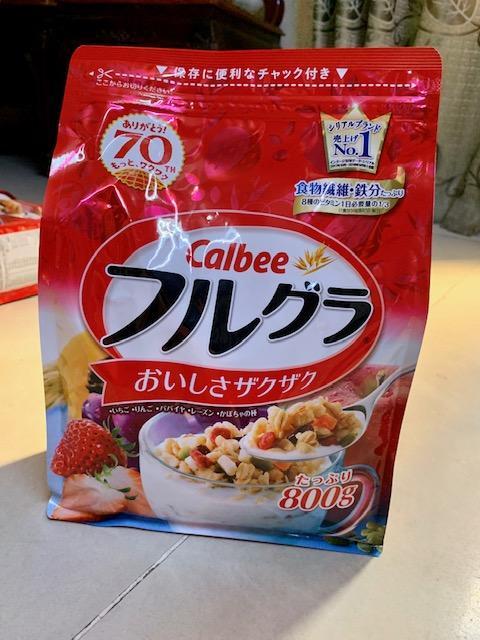 Ngũ cốc Calbee Nhật Bản 800g date mới nhất thị trường (hsd 1/2020)