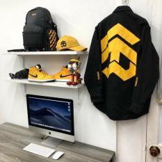 Áo khoác Jacket Kaki 5 THE WAY BLACK Unisex